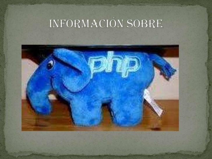 Información sobre<br />