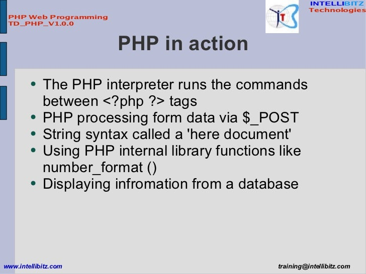 php in