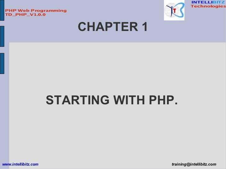 PHP Web Programming Slide 3