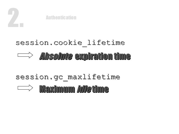 php session lifetime