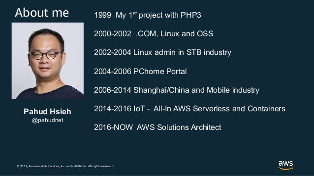 [PHP 也有 Day #37] 在 AWS 上高效運行 PHP 的最佳實踐 - Pahud Slide 2