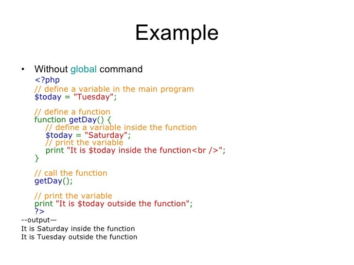 Php Programming Codes