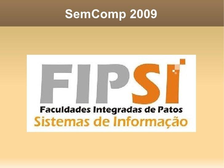SemComp 2009