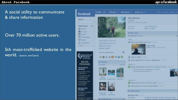 PHP Tek 2008 : APC @ Facebook Slide 2