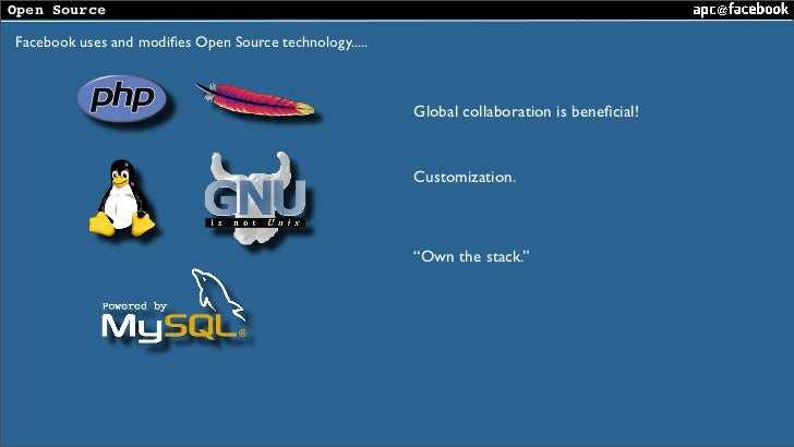 PHP Tek 2008 : APC @ Facebook Slide 3