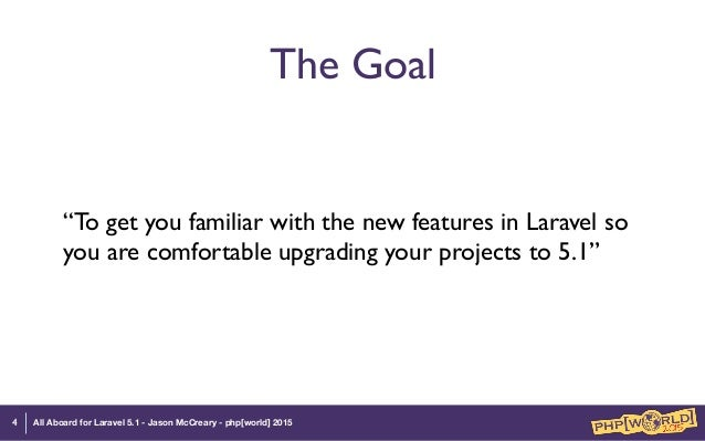 All Aboard for Laravel 5 1
