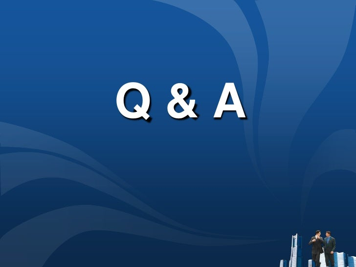 Q & A<br />