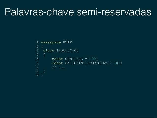 Palavras-chave semi-reservadas 1 $queryBuilder = $repository->createQueryBuilder('e'); 2 3 $queryBuilder 4 ->where() 5 ->a...