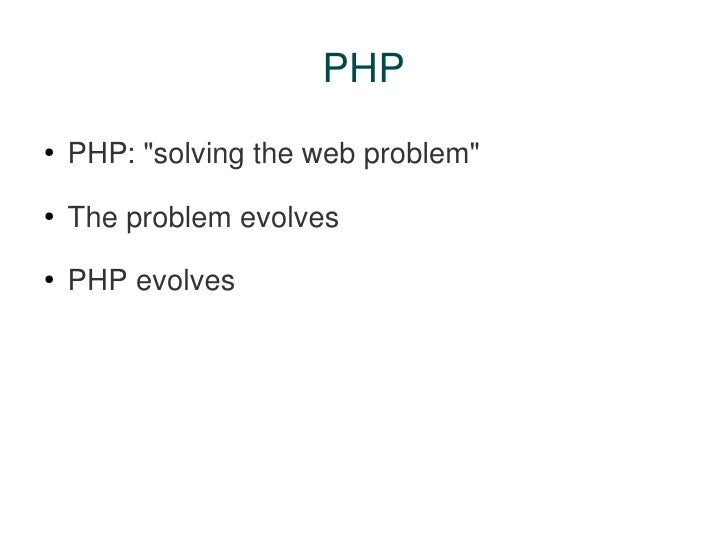 PHP And Web Services: Perfect Partners Slide 3