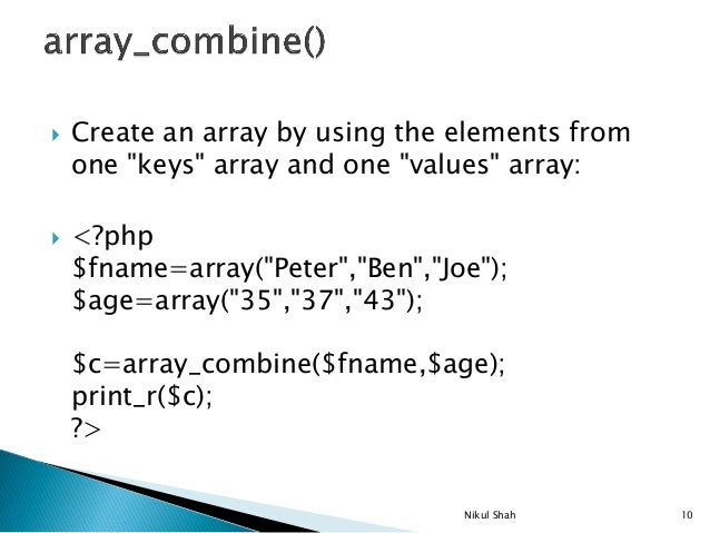 how to comapre arrays and build an array using php