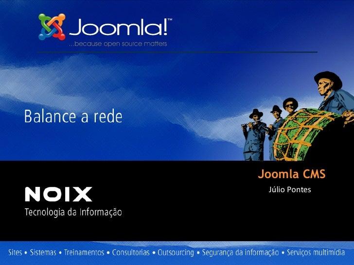 Joomla CMS Júlio Pontes