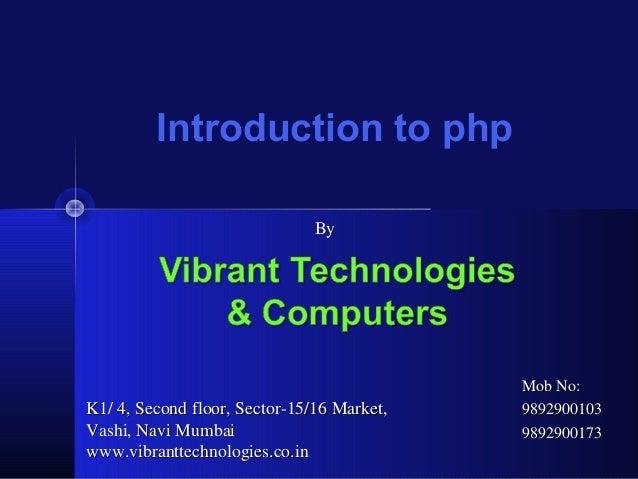 php classes in mumbai