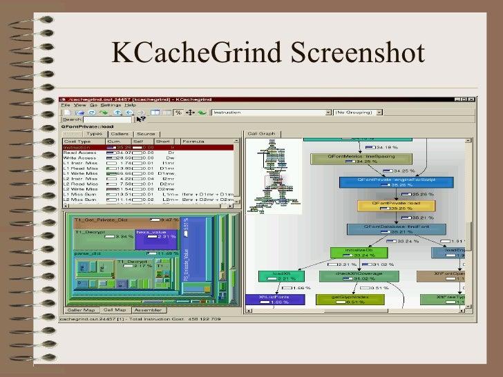 KCacheGrind Screenshot