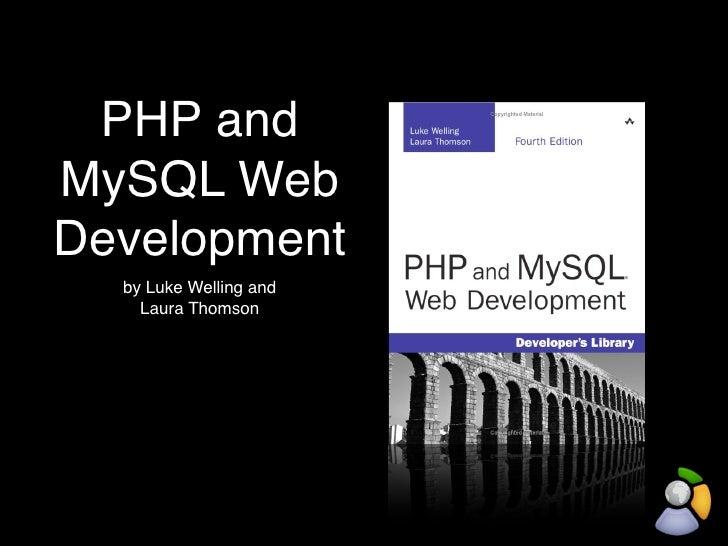 php mysql luke welling laura thomson pdf