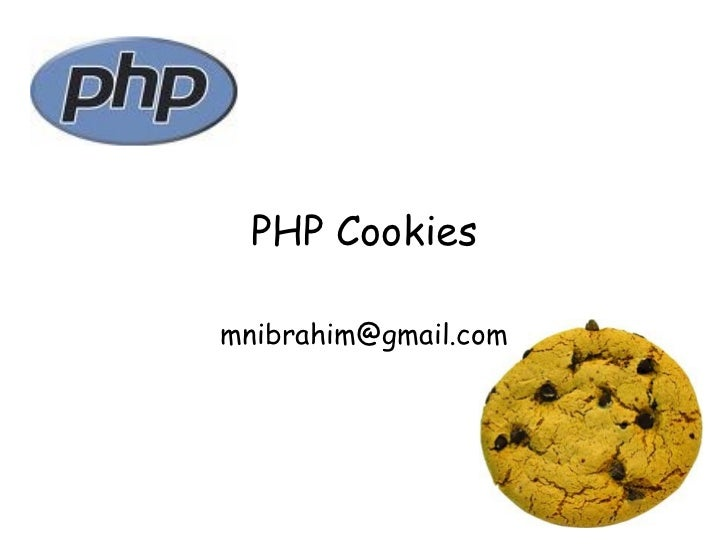 PHP Cookies [email_address]