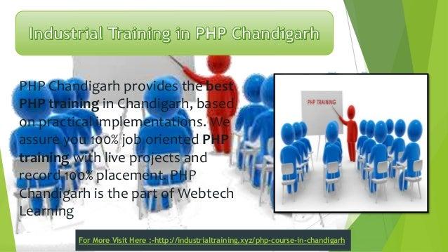 6 months industrial training in chandigarh Slide 2
