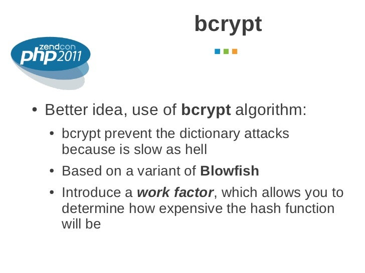 bcrypt php
