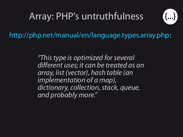 PHP data structures (and the impact of php 7 on them