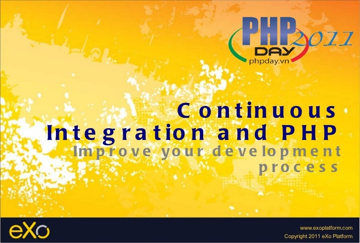 Continuous Integration and PHP Improve your development process