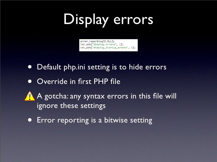 Php Error_reporting Manual | Lobster House