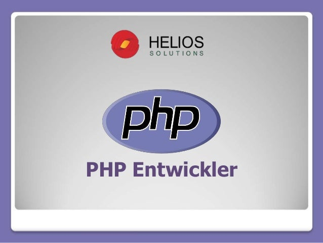 PHP Entwickler