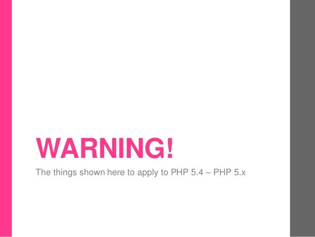 Php extensions Slide 3