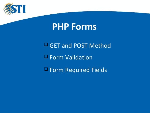 Php forms