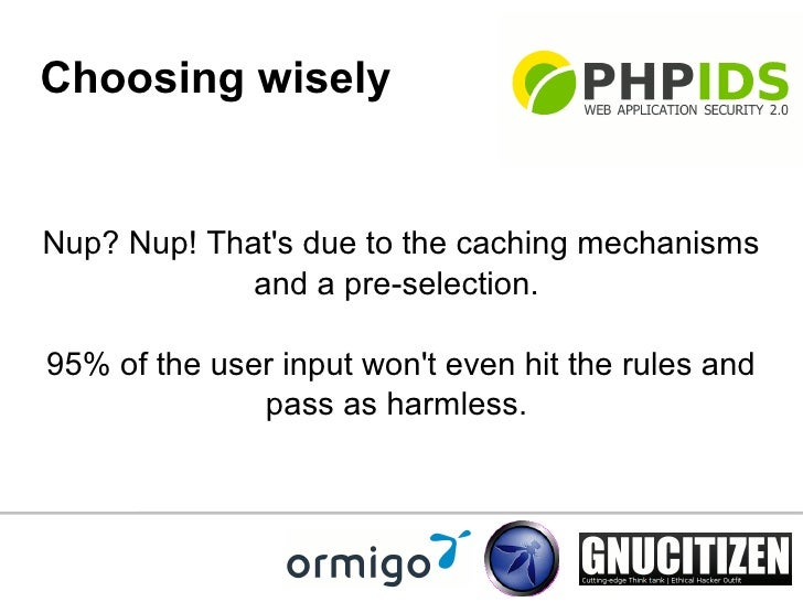 ... WordPress; 20. Choosing wisely Nup?