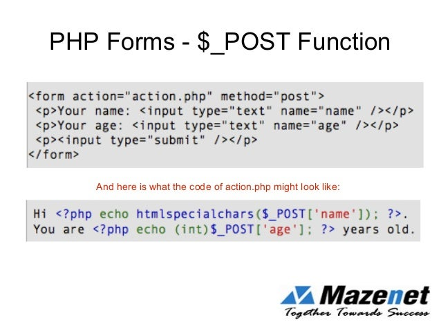PHP - Introduction to PHP - Mazenet Solution