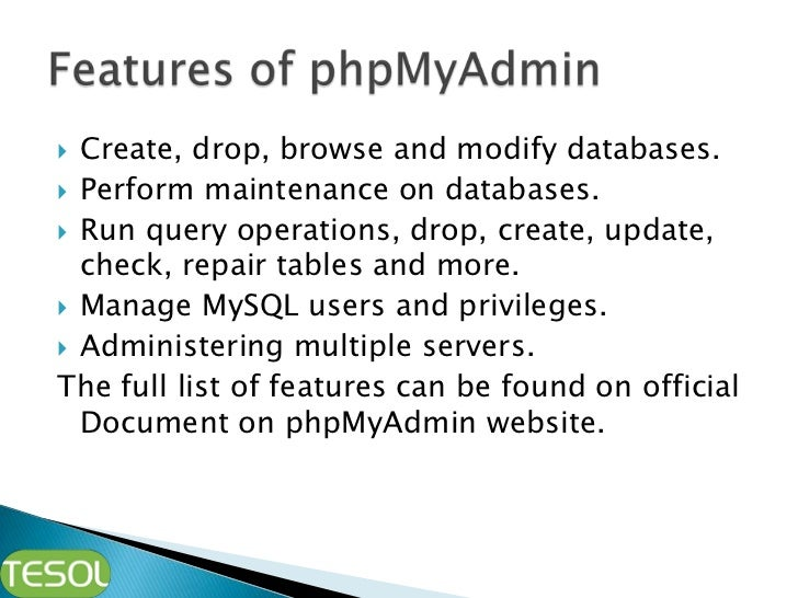 Phpmyadmin administer mysql 3 ccuart Image collections