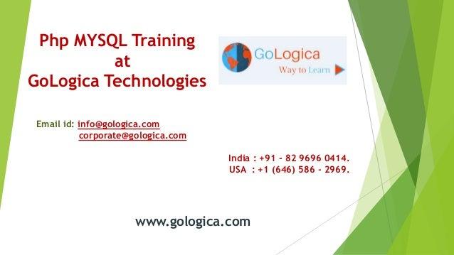 Php mysql online training
