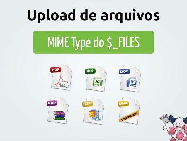 MIME Type do $_FILES Upload de arquivos