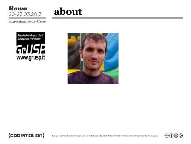 PHP, non lo stesso vecchio linguaggio by Massimiliano Arione Slide 3