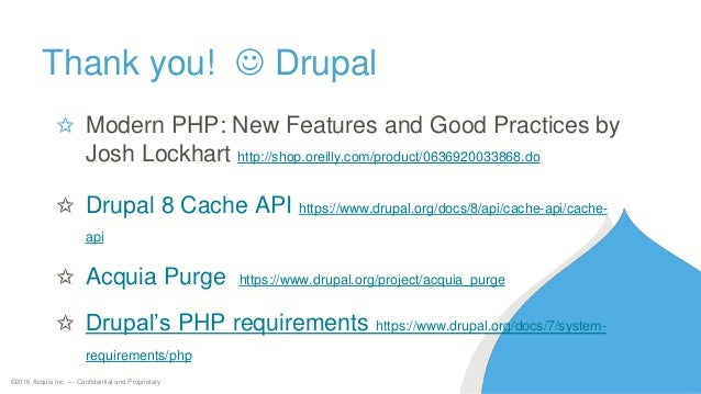PHP Performance tuning for Drupal 8