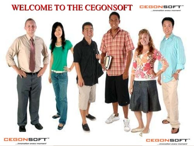 WELCOME TO THE CEGONSOFT