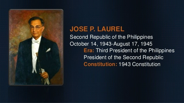 What Were the Accomplishments of Jose P. Laurel?
