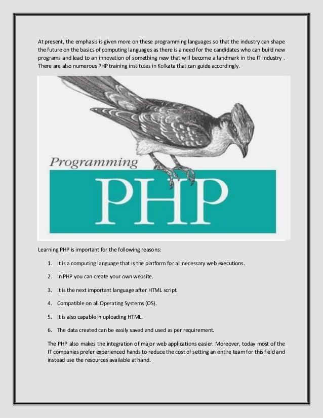 Php Training Slide 3