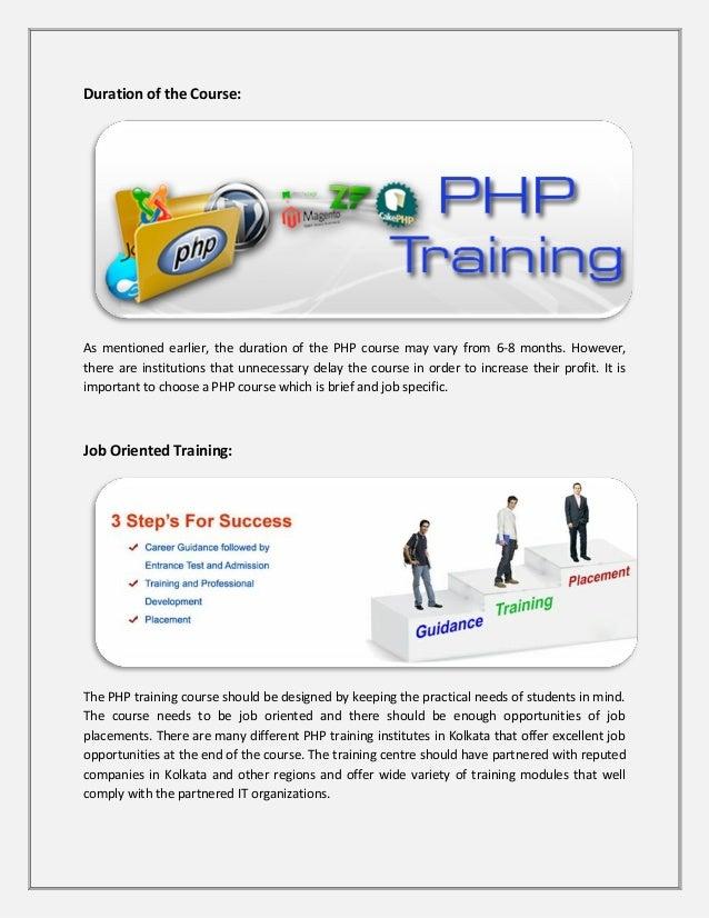 Php training centre in kolkata Slide 2
