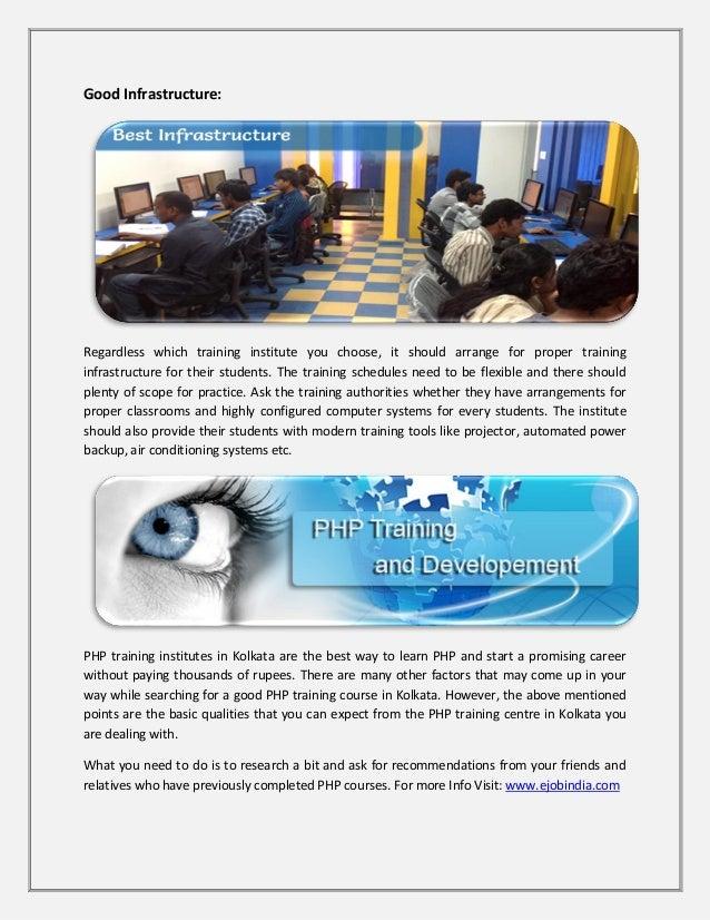 Php training centre in kolkata Slide 3