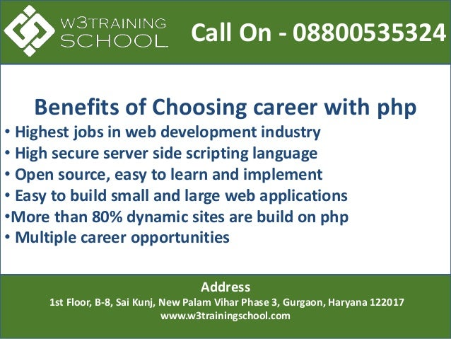 Best Php training institute in gurgaon for Professionals  Slide 3