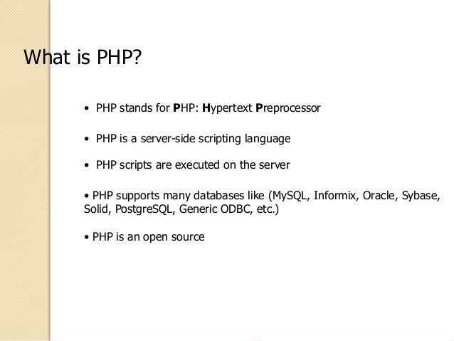 Introduction to php note pdf download lecturenotes for free.