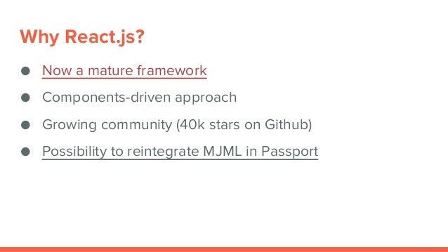 MJML presentation - PHP User group Sofia
