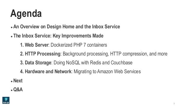 Massively Scaled High Performance Web Services with PHP Slide 3