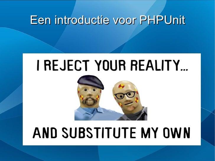 Een introductie voor PHPUnit
