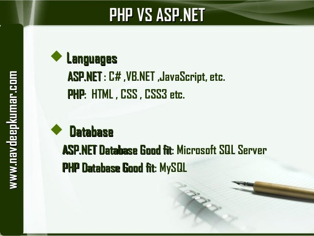 php vs asp essay Asp:textbox vs input text (a php developer learning asp) php aspnet   comparative summary faster/easier  aspnet vs html/javascript i feel like  your.