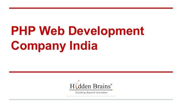 PHP Web Development Company India