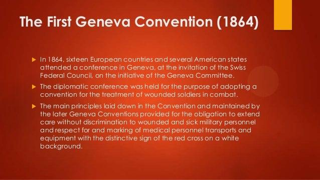FIRST GENEVA CONVENTIONS PDF