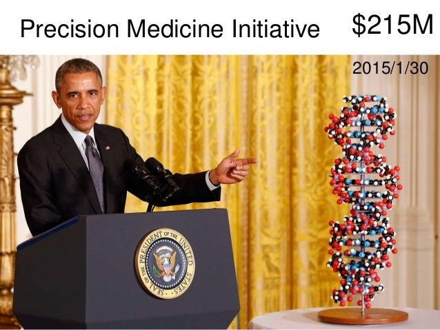 $215MPrecision Medicine Initiative 2015/1/30