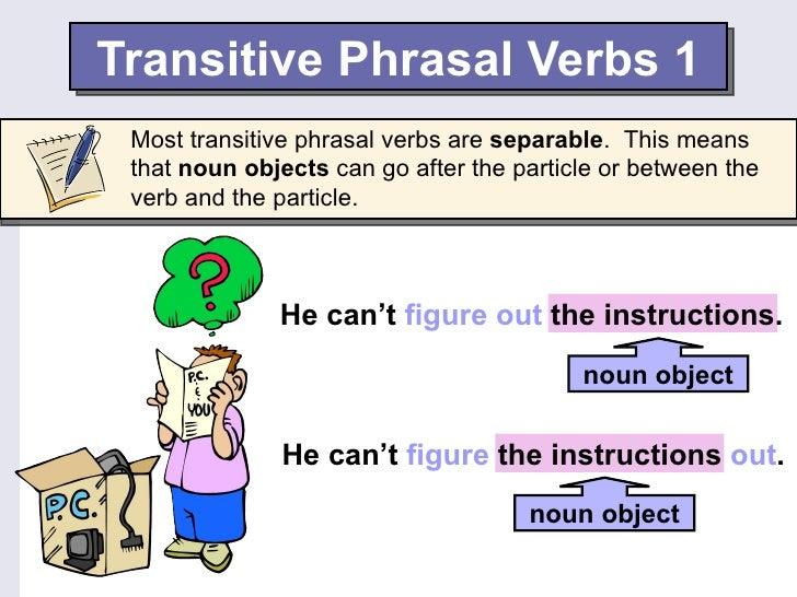 English Phrasal Verbs Slide 3