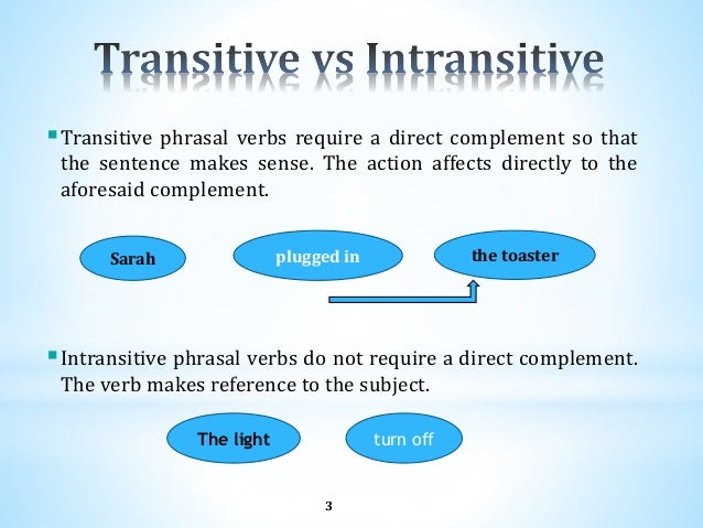 Phrasal verbs 3 3 transitive phrasal verbs require a direct complement ccuart Gallery
